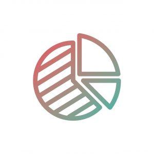 pie, chart, icon